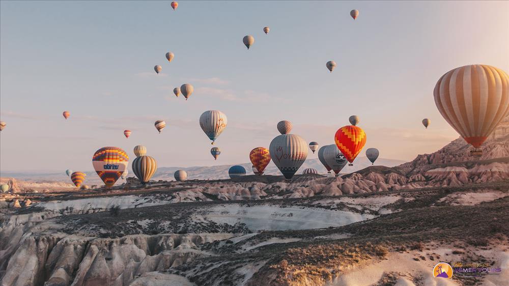 Парад шаров в Каппадокии
