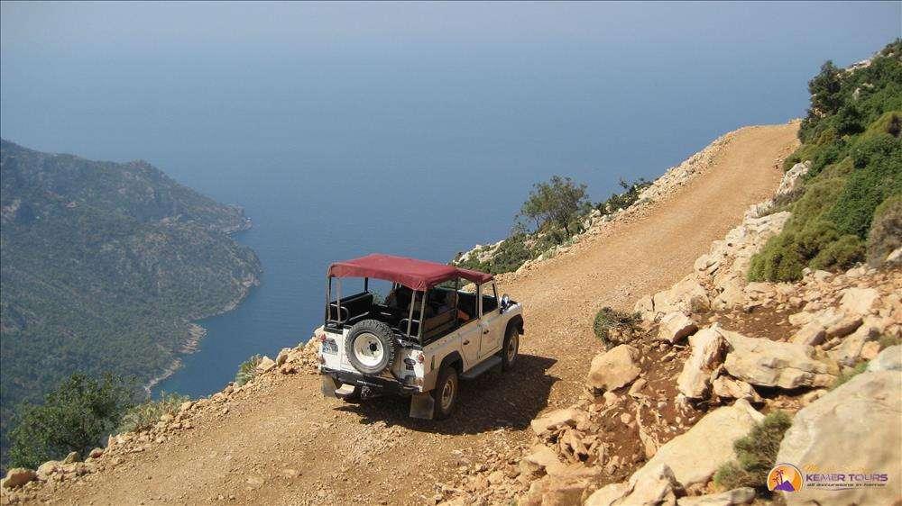 Extreme jeep safari in Kemer