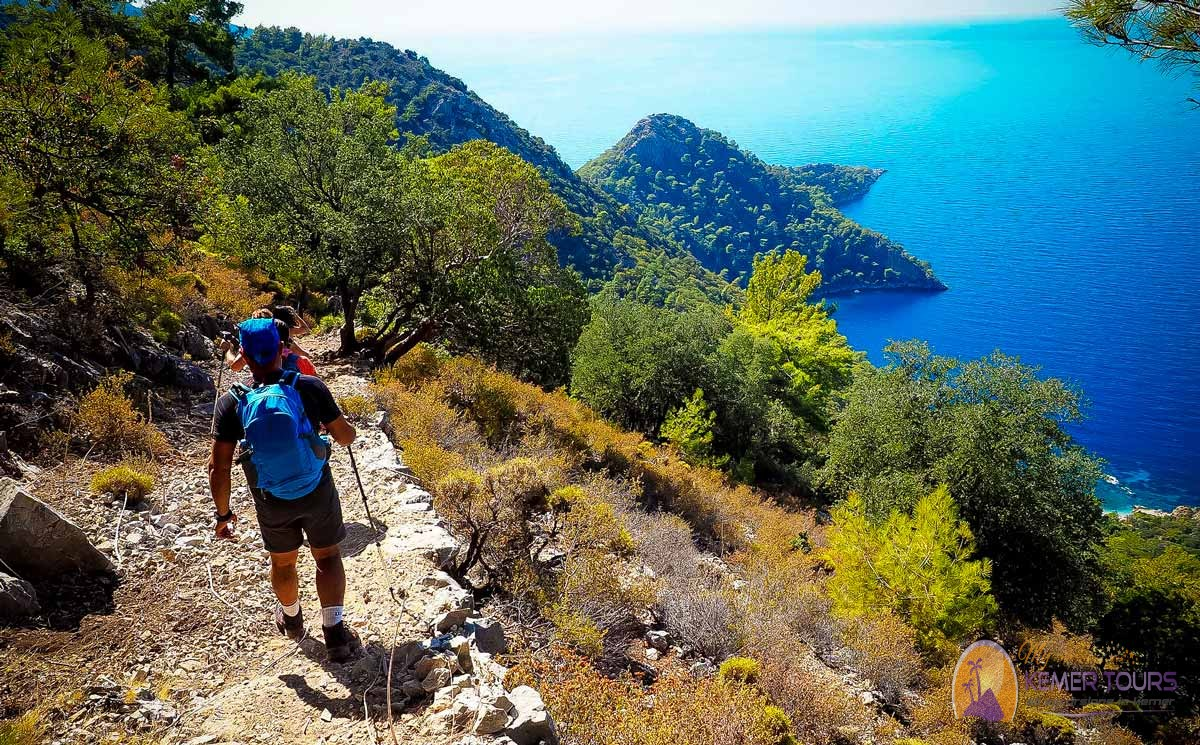 The Lycian trail from Kemer