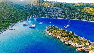 Остров Сулу-Ада из Кемера