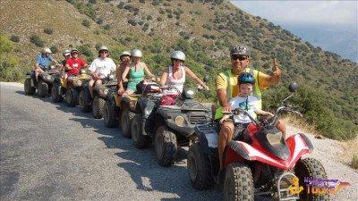 Quad Bike Safari in Kemer