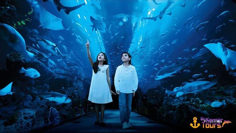 Antalya Oceanarium from Kemer