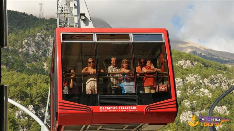Cable car in Kemer